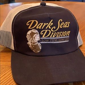 Dark Seas snapback hat